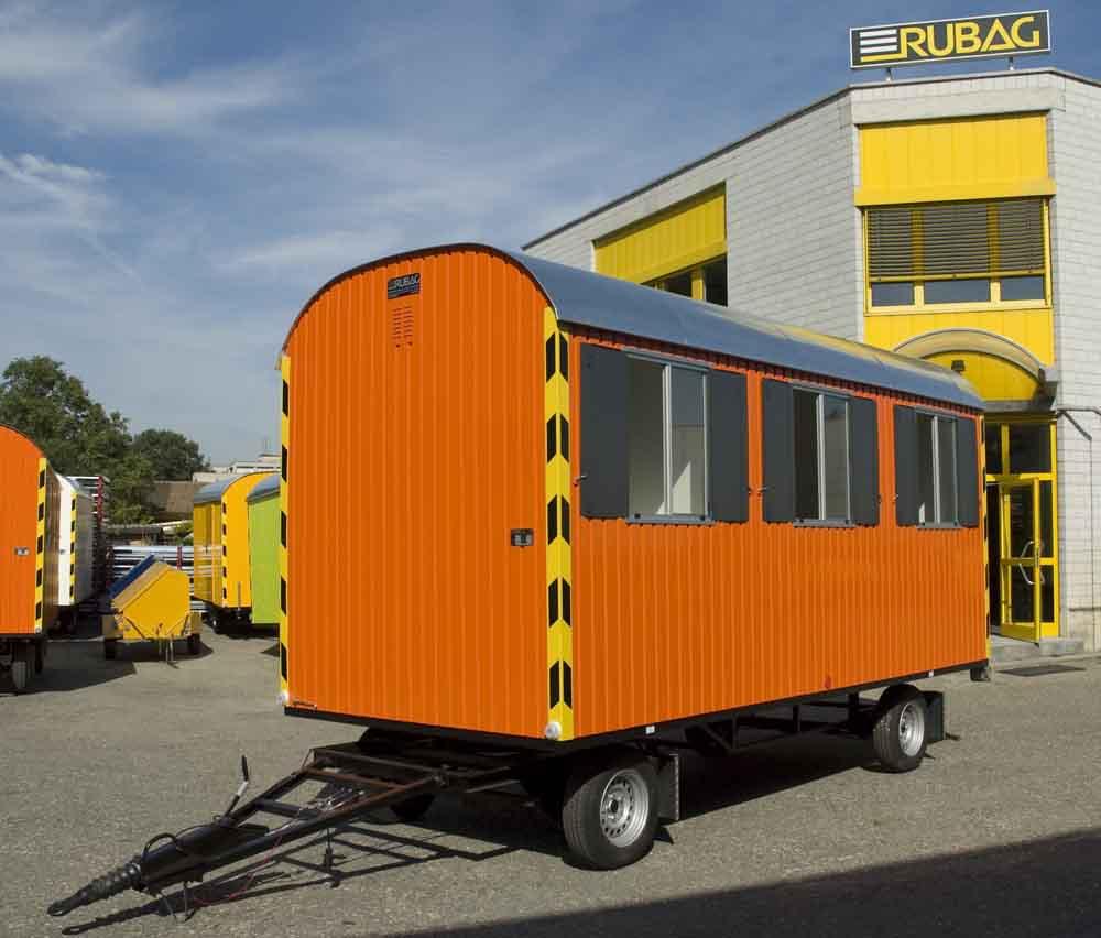 rubag baustellenwagen f r hohe mobilit t einachs und tandem bauwagen. Black Bedroom Furniture Sets. Home Design Ideas