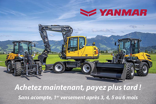 Leasingflyer Yanmar