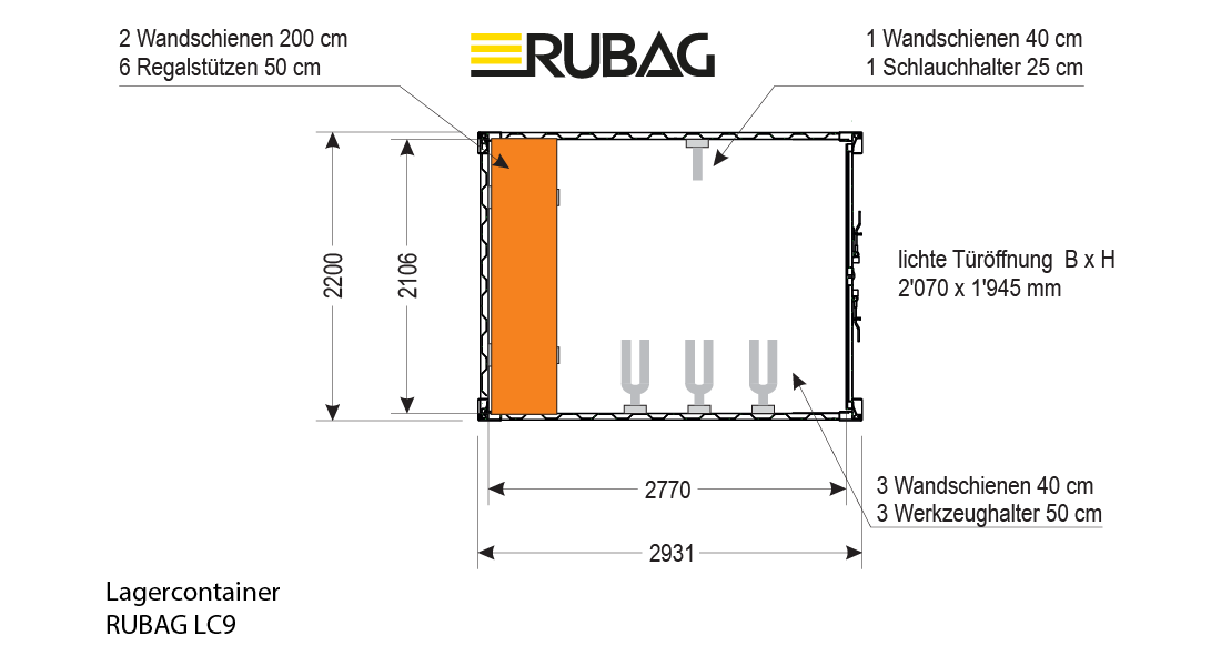 RUBAG Container LC