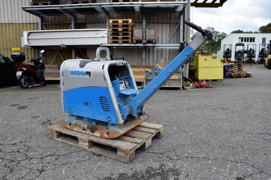 WEBER Reversible vibratory plate CR 7 CCD